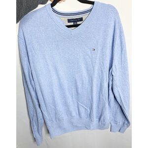 Tommy Hilfiger light blue sweater xl